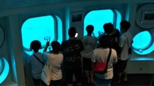フィッシュアイ海中展望台